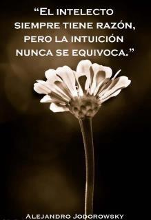 El intelecto siempre tiene razón, pero la intuición nunca se equivoca - Alejandro Jodorowsky #Inspirandote