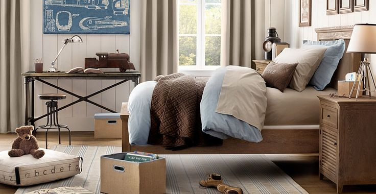 More ideas for Logan's bedroom!