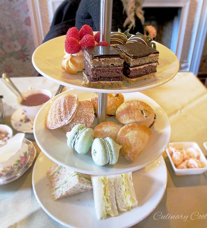 High Tea at Hotel Saskatchewan in Regina, SK