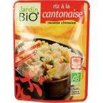 Plat préparé Riz bio à la cantonaise, de Jardin Bio'