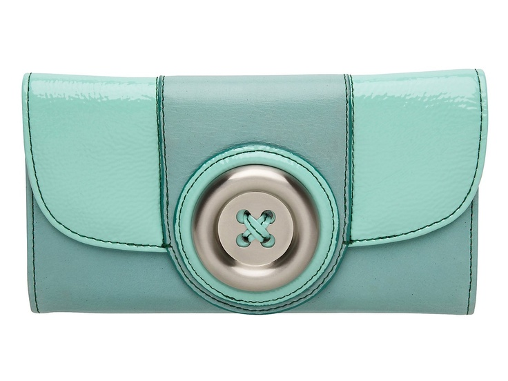 Mimco Lustre button wallet