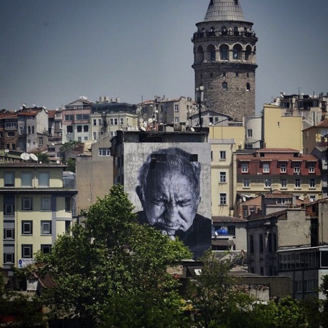 In Istanbul Wrinkles of the City by Artist JR. #st…