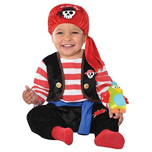 Infants Baby Buccaneer Pirates Outfit Halloween Toddlers Fancy Dress Costume     Order now!