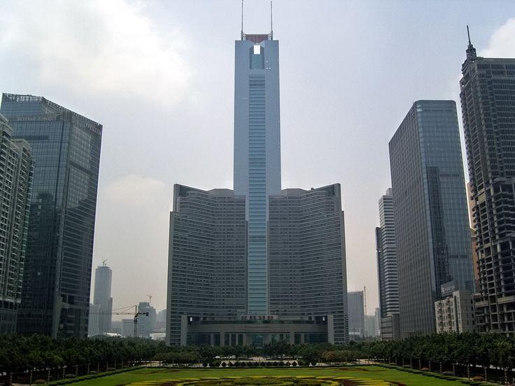 19. CITIC Plaza in Guangzhou, China 1283 ft