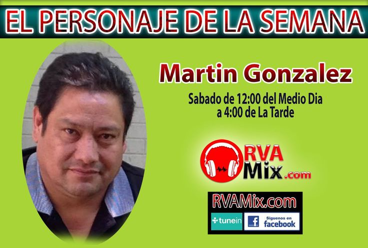 ¡En Vivo y directo con Martín González! ¡Su Trabajo, Su Talento, Su Vida y Mucho Más...!
