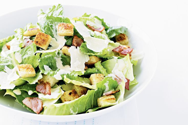 This recipe comes from a waiter at Mexico's famous Hotel Caesars where this dish was invented. It's the real caesar - without chicken, or boiled or poached eggs.