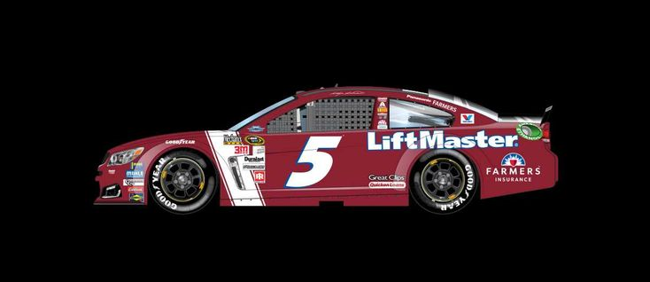 2016 Darlington throwback paint schemes | Kasey Kahne No. 5 Hendrick Motorsports Chevrolet