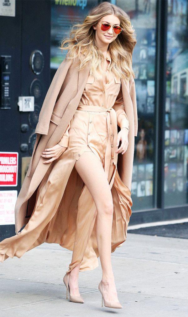 Gigi Hadid style: Topshop coat