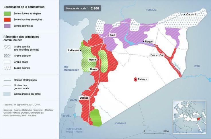 Septembre 2011 : une révolte qui s'inscrit dans une mosaïque de communautés (Coline)