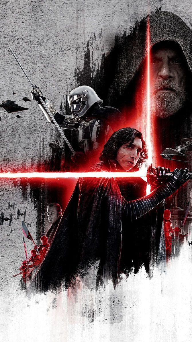 Star Wars The Last Jedi 2017 Phone Wallpaper Star Wars Sith