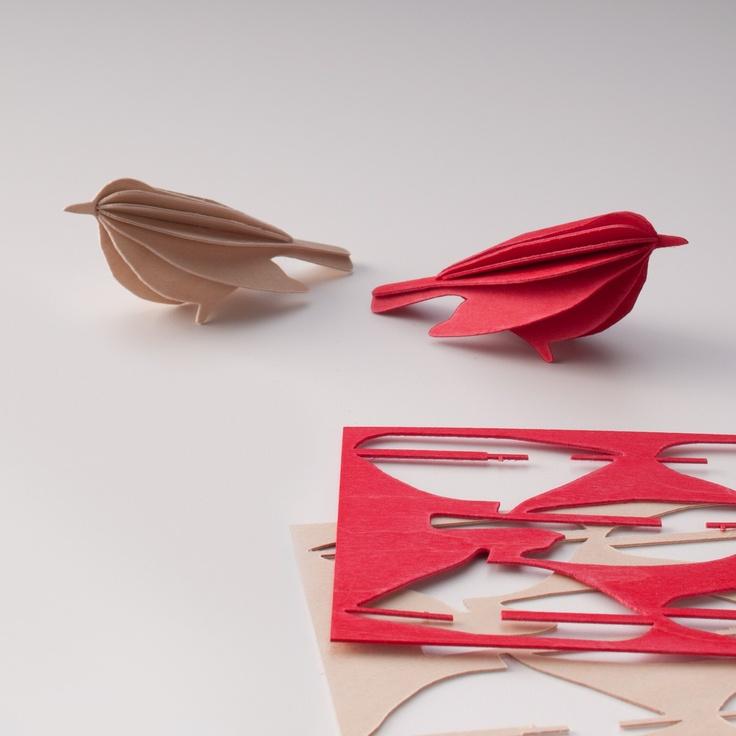 DIY Finnish Birch Plywood Bird