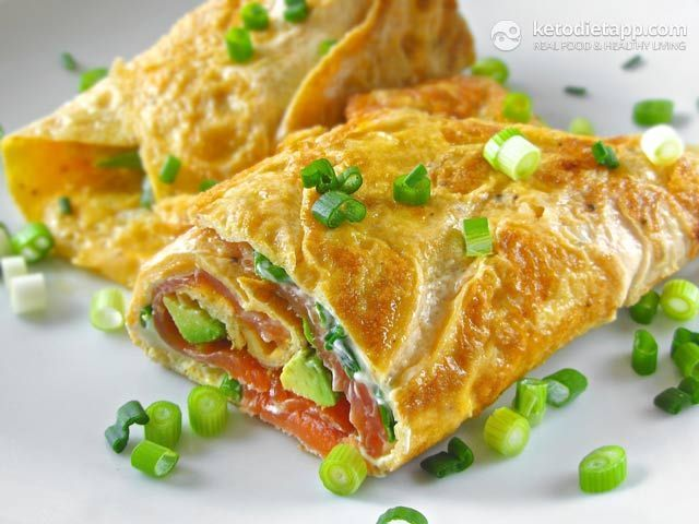 breakfast idea: The KetoDiet Blog | Keto Omelet Wrap & Why Eggs Are So Good For Us