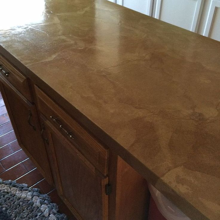 paper bag counter tops.........who knew!