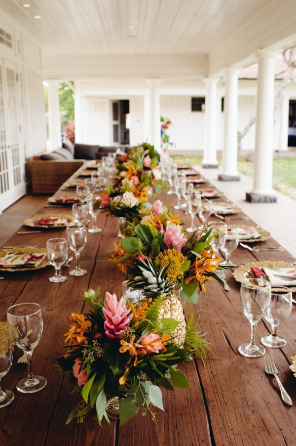 Rustic Island Wedding At Dillingham Ranch Tropical Wedding