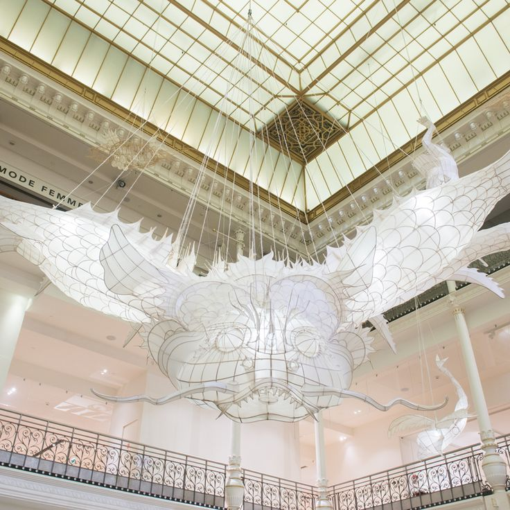 "Ai Weiwei installs monstrous sculptures at Le Bon Marché to ""speak to our inner child"""
