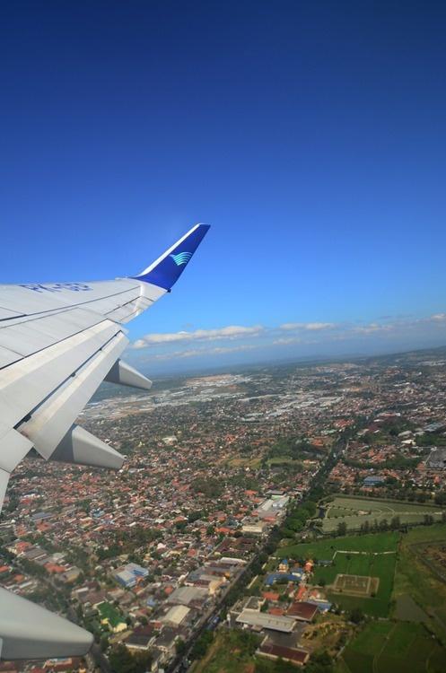Above the Sky with Garuda Indonesia..