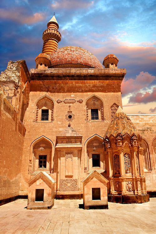 Ishak Pasha Palace . Ağrı province . Turkey