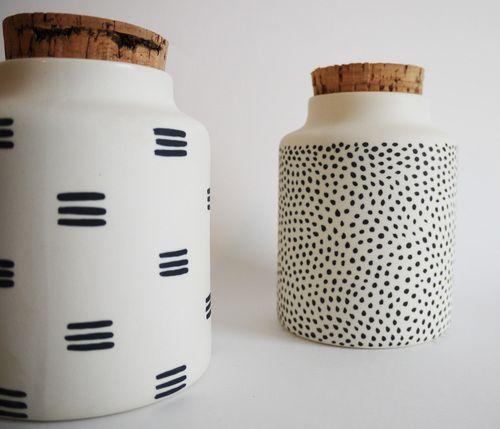 Seed jars - The Granite.