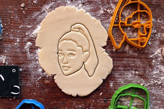 Ariana Grande Cookie Cutter