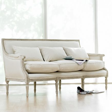 louis XV1 three seater sofa