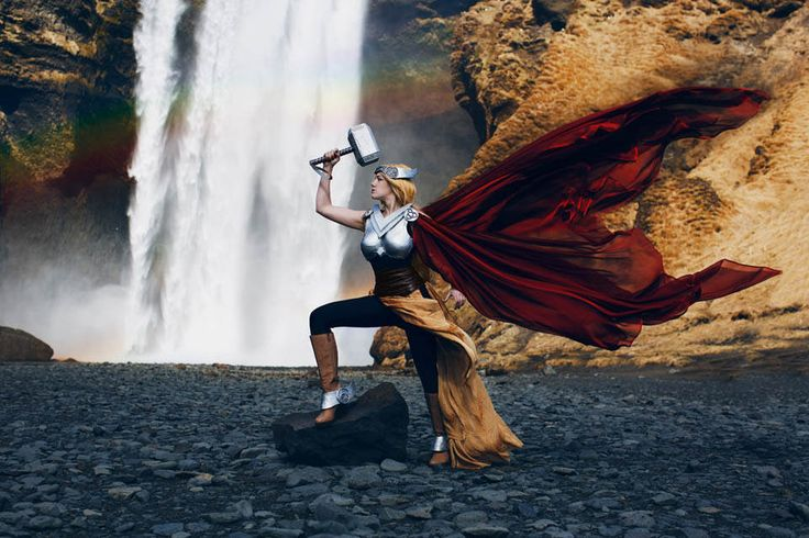Thor #Cosplay in Iceland 2015
