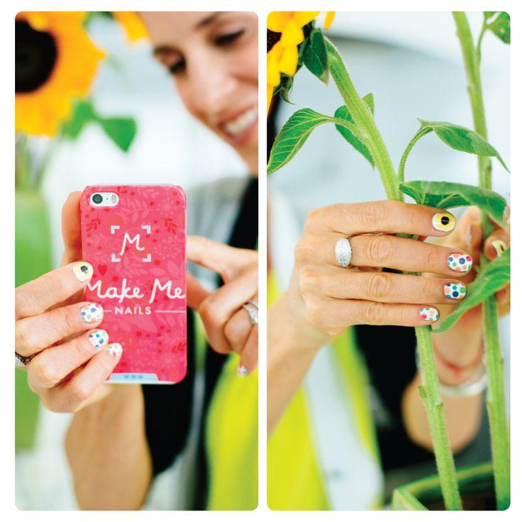 Make me ... sunflower nails #MakeMeNails #ComingSoon | MMN ...