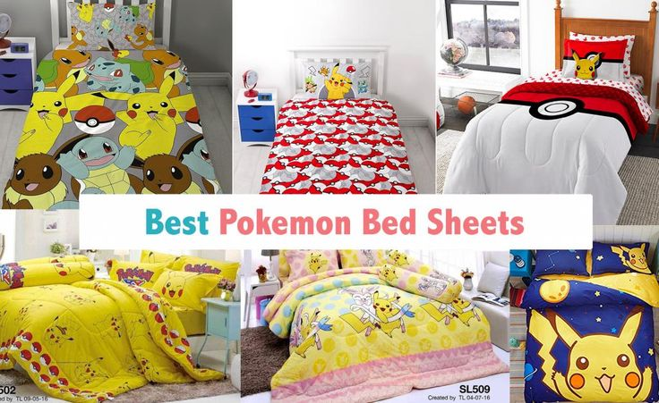 Pokemon Bed Sheets