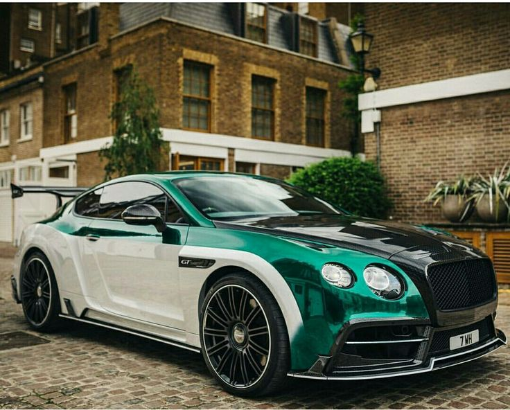 Bentley Continental GT modified by Mansory