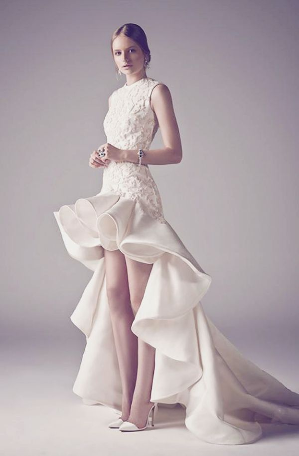 20 of the Prettiest Short Wedding Dresses for 2015 and 2016!