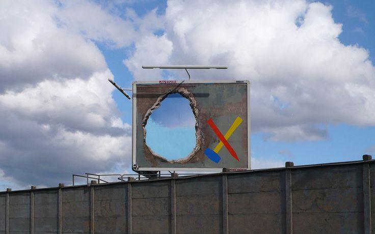 OX http://www.widewalls.ch/artist/ox/ #installation #painting #street #art #urban #art