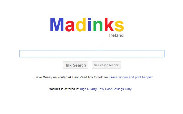 Looking for printer ink cartridges? Let us help you find Google!  Check out our full range of printer ink cartridges @ https://www.madinks.ie Best deals on the web for printer ink and laserjet toner cartridges! #Madinks #Printerink #Ink #Laserjets #Toner #CompatibleInk #Compatibles #CheapInk #Buyink