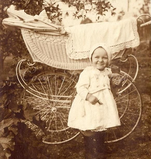 Wicker Baby Buggy C Late 1800s Early 1900s Found
