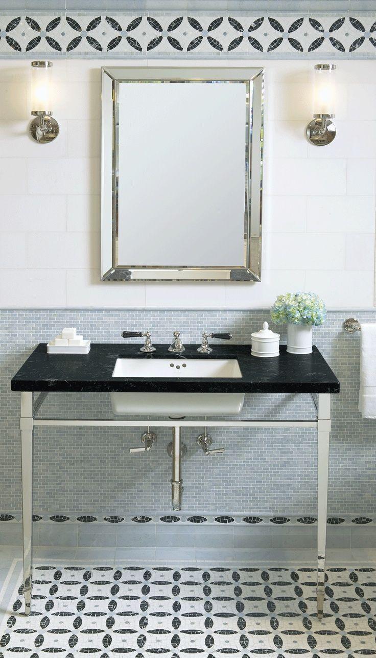 Tile, washstand