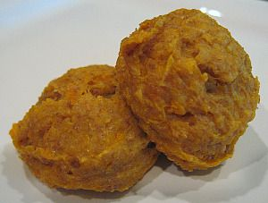 Sweet Potato Soft Dog Treats - I'm going to try these since they are soft dog treats which are easier for older dogs with missing teeth than the crunchy kinds.