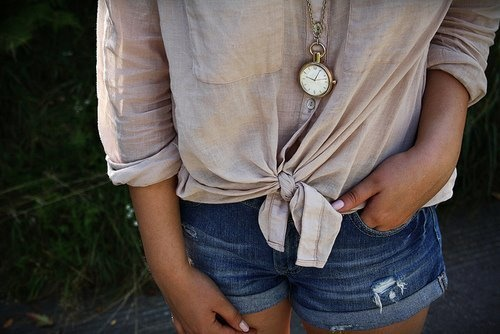 Forever 21 Outfit, Fashion, Summer Outfit, Style, Woman Clothing, Jeans Shorts, Denim Shorts, Dreams Closets, Clocks Necklaces