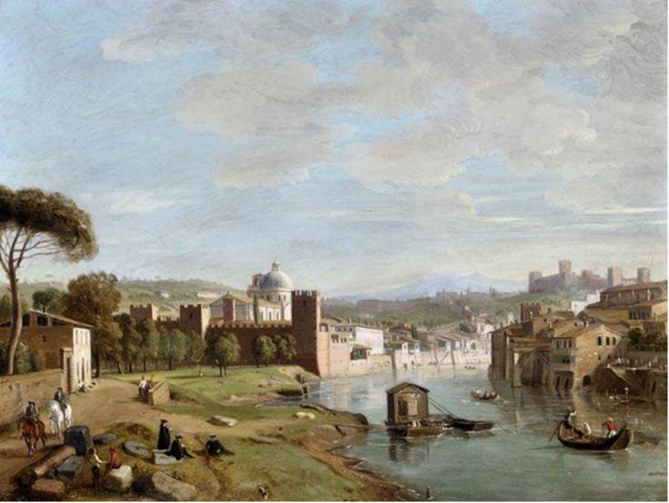 Vista del río Adigio en San Giorgio in Braida (Verona)