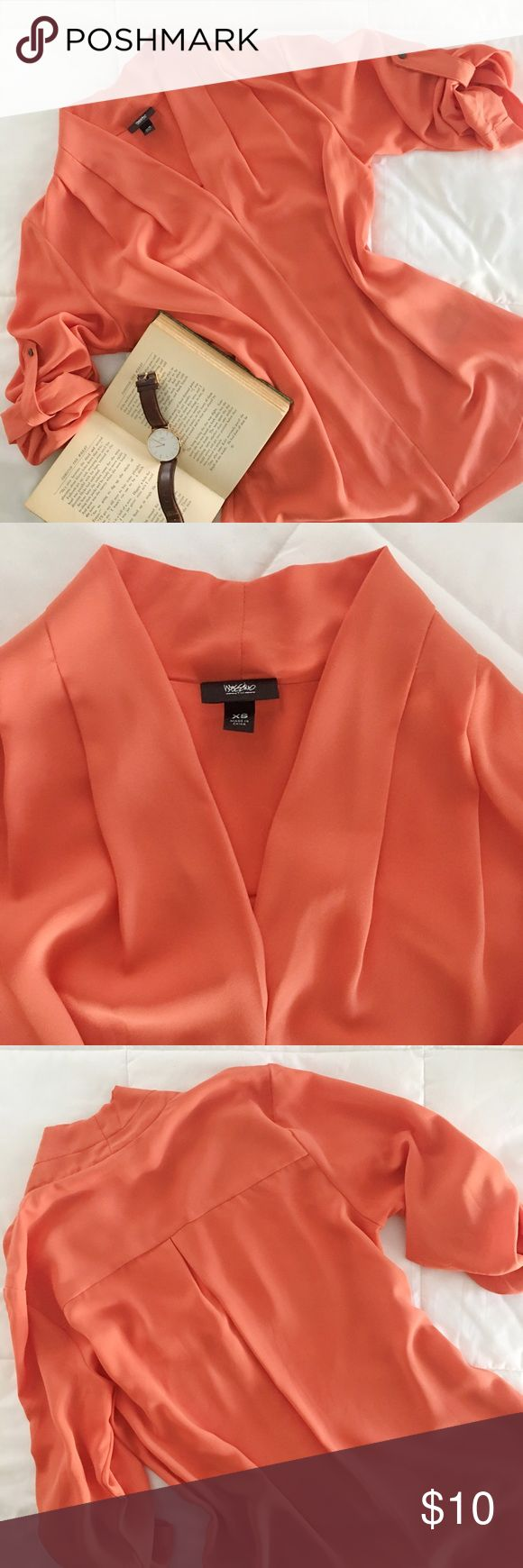 Orange Blouse Pinterest 42