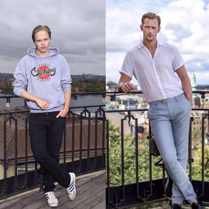 Alexander Skarsgård & Valter