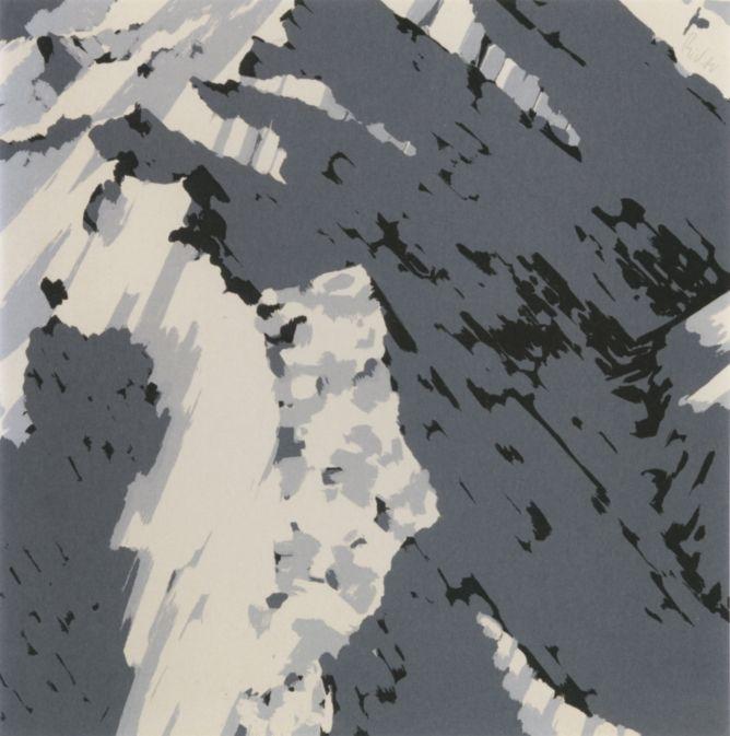"Герхард Рихтер ""Швейцарские Альпы"", 1969"