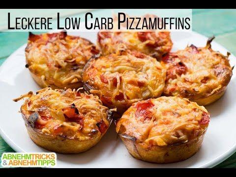 Leckere Low Carb Pizzamuffins