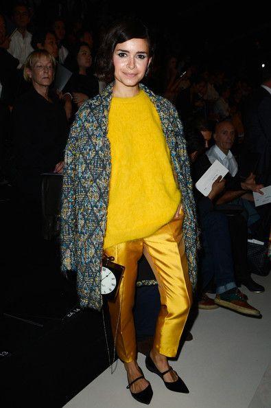 #fashionweek inspiration: miroslava duma