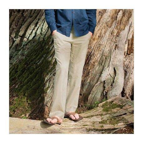 5d207445a8 pantanones de lino anchos hombre