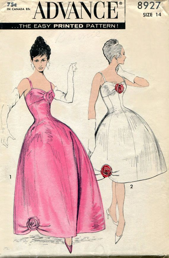 2243 best vintage Patterns images on Pinterest | Vintage dresses ...