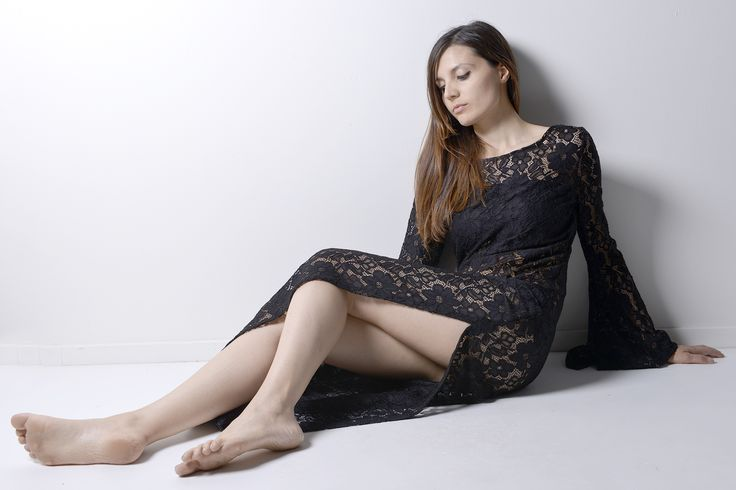 sexy woman loves lace dress...