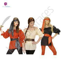 #Disfraces grupo #camisas piratas  #Disfraces para grupos y #comparsas descuentos especiales para #grupos.