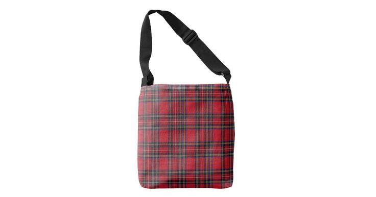 Royal Stewart Tartan Pattern Crossbody Bag | Zazzle