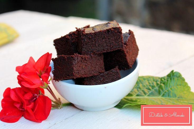 Cukkinis brownie - MINDENMENTES