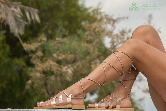 Gladiator Sandalen Sandaletten Sandalen aus von TriskelionSandals