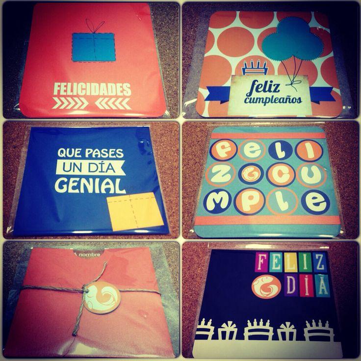 Happy birthday Cards / Tarjetas cumpleaños / Scrapbook / design paper