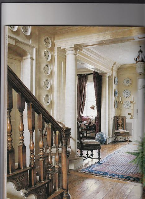 Another View Of A Great English Foyer